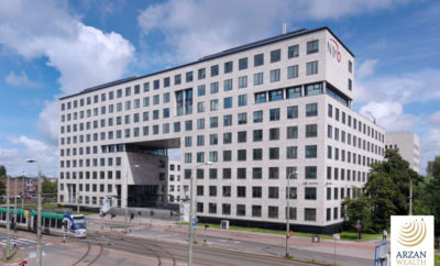 The Headquarters of the Netherlands Organization for Scientific Research 400x242 - Arzan Wealth Advises On Acquisition of Government- Leased Office Building in the Netherlands