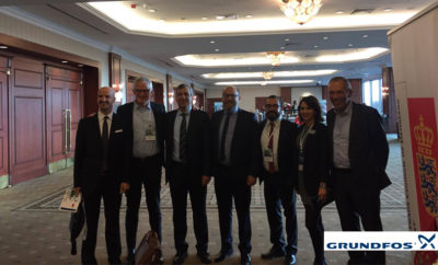 A group photo for Grundfos team during the event Photo AETOSWire 1514096483 400x242 - Grundfos CEO Delivers Important Remarks at the District Energy Systems for a Sustainable and Energy Efficient Future Conference 2017 in Turkey