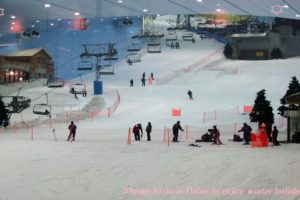 things to do in dubai to enjoy winter holidays