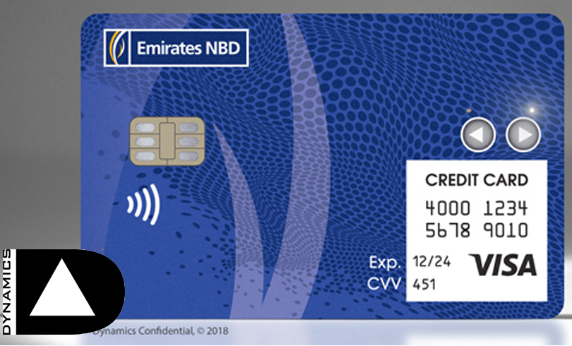 The Dynamics Inc and Emirates NBD 1515474899 - Emirates NBD and Dynamics Partner to Introduce Wallet Card™ -- UAE's First Battery-Powered Interactive Payment Card