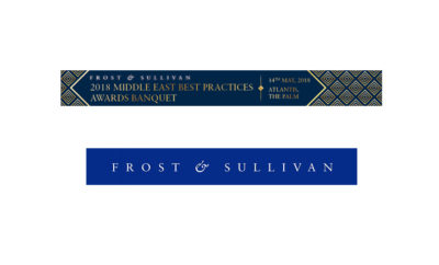Web Banner ME 2018 1517293499 400x242 - Frost & Sullivan to Honour Innovation and Excellence across Industry Sectors in the Middle East
