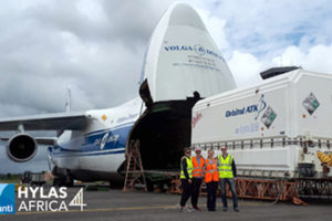 Avanti Communications HYLAS 4 1518934066 300x200 - Avanti Communications HYLAS 4 Satellite Arrives in French Guiana