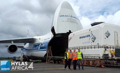 Avanti Communications HYLAS 4 1518934066 400x242 - Avanti Communications HYLAS 4 Satellite Arrives in French Guiana