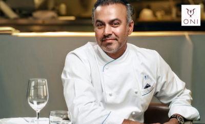 Chef Mohammad Islam ONIs CEO Photo AETOSWire 1518605048 1 400x242 - A Hot New Spot for Street-Style Japanese Cuisine Launches in Shangri-La Hotel Dubai