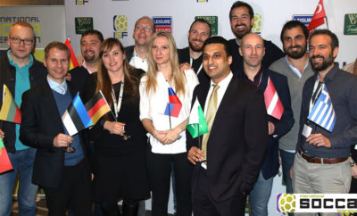 Group photo during the event Photo AETOSWire 1518714097 400x242 - Shahzaib Trunkwala Elected as Vice President of the International Socca Federation