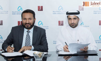 Mr Sameer K Mohamed Managing Director of Jaleel Holdings and Mr Abdulla Belhoul CEO of Dubai Wholesale City Photo AETOSWire 1519663466 400x242 - Jaleel Cash & Carry to develop AED 100 m facility at Dubai Wholesale City