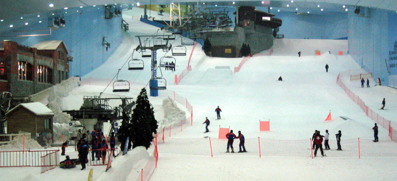 SKI DUBAI AT EMIRATES MALL - Looking for a checklist of places to visit in Dubai at night?
