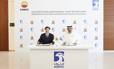 ADNOC and CNPC Photo AETOSWire 1521636886 400x242 - ADNOC Signs Offshore Concessions with CNPC Strengthening Ties with World's Number One Oil Importing Country