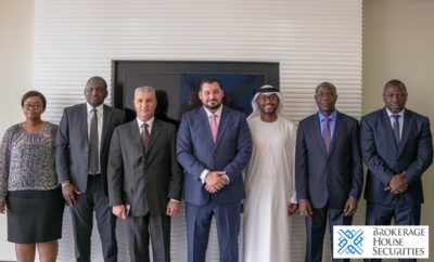 Group picture for ADX BHS and the delegation from Africa Photo AETOSWire 1519735898 400x242 - Leading UAE brokerage firm BHS hosts West African stock exchange delegation