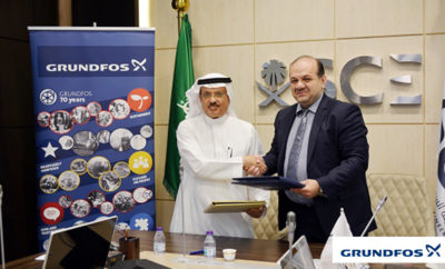 Grundfos has signed a Memorandum of Understanding MoU with the Saudi Council of Engineers SCE Photo AETOSWire 1520328128 400x242 - Grundfos Signs MoU with the Saudi Council of Engineers (SCE)