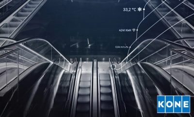 KONE Brings a Human Touch To 247 Connected Services With the World s First Tweeting Escalator Photo AETOSWire 1520319153 400x242 - KONE Brings a Human Touch To 24/7 Connected Services With the World's First Tweeting Escalator