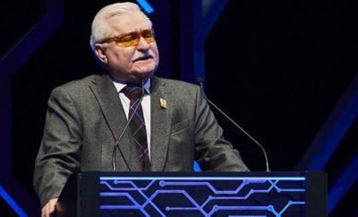 Lech Walesa guest of honour Photo AETOSWire 1522335841 400x242 - Former Polish President Calls on Europe to Follow Example of Sharjah in Government Communication at IGCF