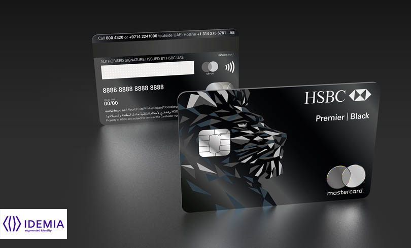 DUBAI HSBC CARD 3D 1523863160 - IDEMIA Delivers the New Metal HSBC Black Credit Card