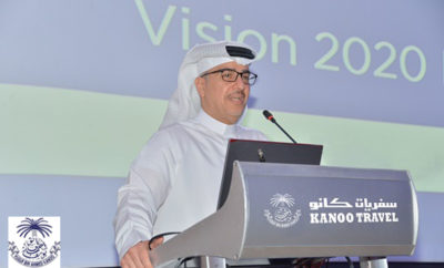 Nabeel Khalid Kanoo speaking in Bahrain about Vision 2020 Photo AETOSWire 1524374502 400x242 - Kanoo Travel bolsters Middle East presence with Best-In-Class Travel Solutions