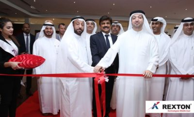 Rexton Technologies LED Manufacturing Facility Corporate Office Inaugurated by H E Abdallah Sultan Al Owais  H E Saud Salim Al Al Mazrouei Mr Lalu Samuel Photo AETOSWire 1523949800 400x242 - Rexton Technologies Middle East Inaugurated The Region's Largest LED Light Fittings Manufacturing Facility And Its 80,000 Sq.Ft  Environment Friendly  Corporate Office, A Multi-Million Dollar Investment By Kingston Holdings FZC In SAIF Zone, Sharjah