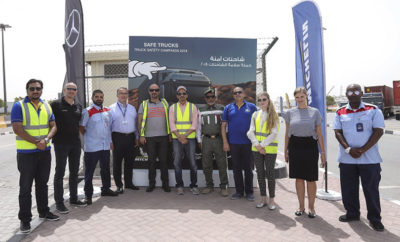 SAFE TRUCKS 1 Photo AETOSWire 1523339788 400x242 - SAFE TRUCKS 2018: A ROAD SAFETY INITIATIVE LAUNCHED IN DUBAI BY RTA, DP WORLD, GARGASH ENTERPRISES - MERCEDES-BENZ AND MICHELIN
