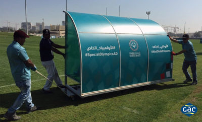 Special Olympicsphoto AETOSWire 1523424647 400x242 - GAC Abu Dhabi provides on-site logistics support for Special Olympics IX MENA Regional Games
