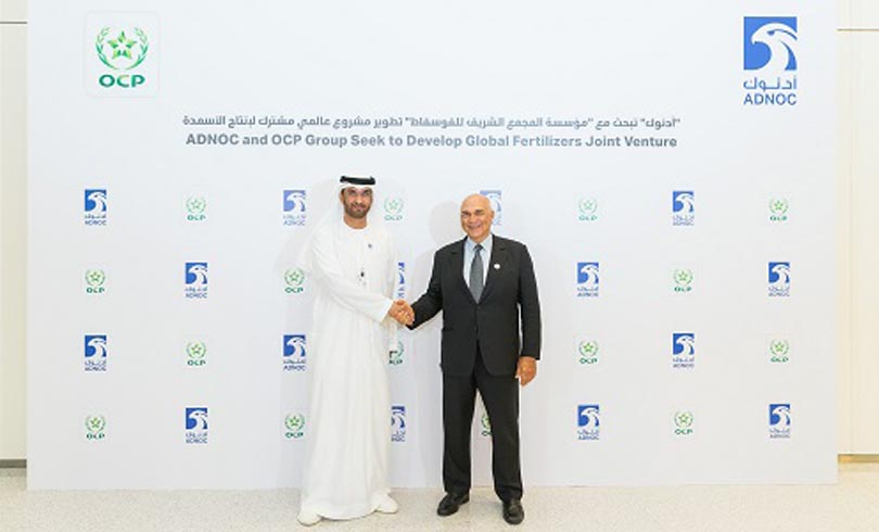 ADNOC and OCP Broaden Their Partnership and Intend to Develop a Global World Class Fertilizers Joint Venture Photo 1 AETOSWire 1526385782 - ADNOC and OCP Broaden Their Partnership and Intend to Develop a Global World-Class Fertilizers Joint Venture
