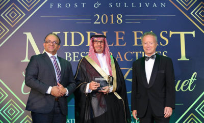 AMNCO Frost and Sullivan Photo AETOSWire 1526973070 400x242 - Arabian Security & Safety Services Co. Ltd. (AMNCO) Wins the '2018 KSA Manned Guarding Company of the Year Award' at the Frost & Sullivan Middle East Best Practices Awards