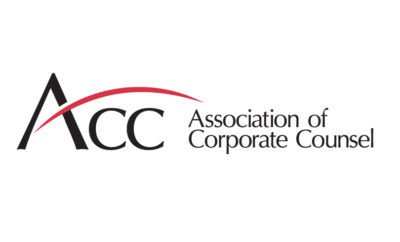 Association of Corporate Counsel ACC logo 1527672522 400x242 - ACC Announces Second in-House Counsel Certification Program