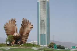 falcon roundabout 270x180 - The top 3 exquisite tourist destinations to visit in Fujairah