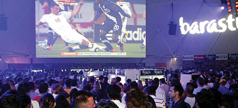 Barasti - Where to watch FIFA world cup in Dubai 2018