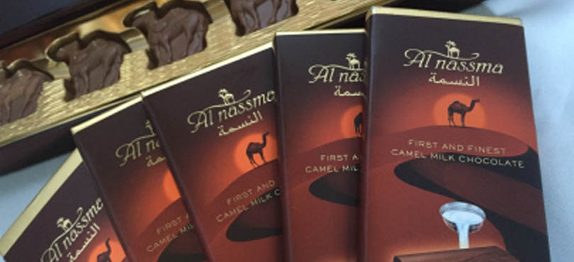 Camel Milk Chocolates - Souvenirs from Dubai