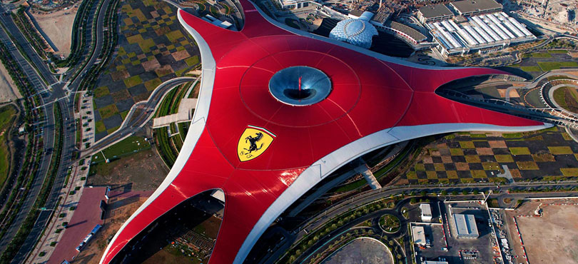 Ferrari World - 5 Things to do in Abu Dhabi this Summer