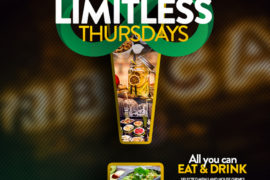 550e37960863613471f0b1f1373e1f2f 270x180 - Limitless Thursdays