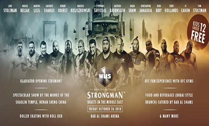 Worlds Ultimate Strongman Photo AETOSWire 1538984883 - There Is Lots More Happening at The First Edition of World's Ultimate Strongman!