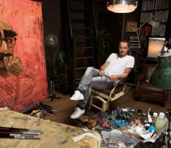 JonathanYeo 347x300 - Famous Portrait Artists and their Passions