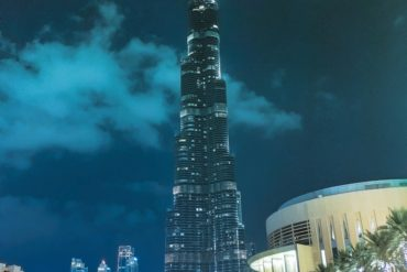 Burj Khalifa 370x247 - Places to Visit in Dubai at Night