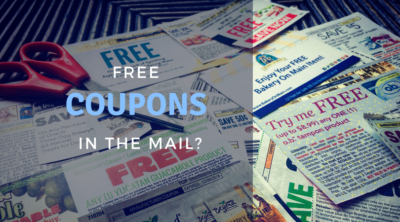 free coupon in mail
