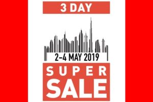 3 day super sale dubai