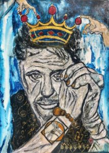King Hallyday 214x300 - Best Pop art Suzi Nassif paintings