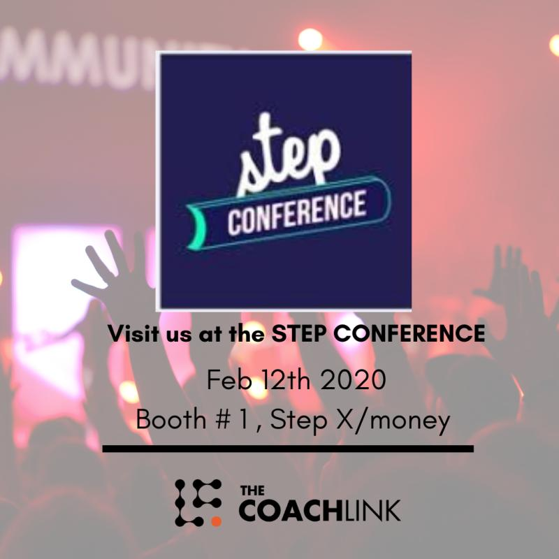 coach link at step - The CoachLink Exhibits in Step Conference 2020
