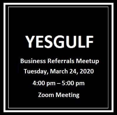 yesgulf Room full of referrals 1 398x390 - YesGulf Referrals Meetup