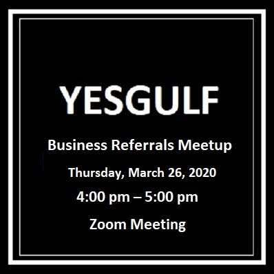 yesgulf Room full of referrals 2 - YesGulf Online Networking